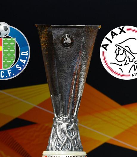 Ajax treft in Getafe de nummer drie van Spanje