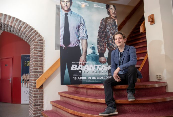 Tom de Bont in het Heerenstraattheater.