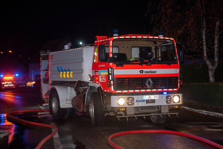 Brandweerpost Sint-Lievens-Houtem was in de buurt aan het oefenen en was meteen ter plaatse en kon erger voorkomen.