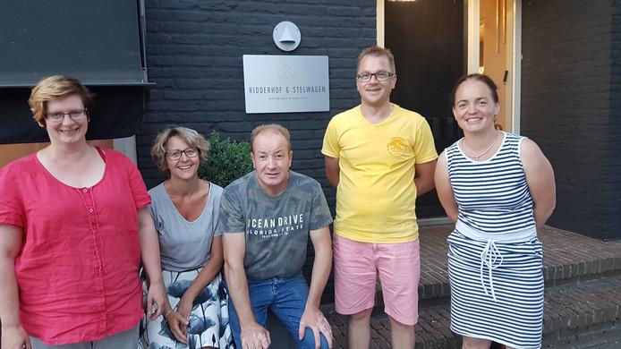 Het bestuur van de nieuwe vereniging in Vaassen.