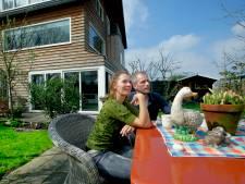 Wonen op de rand van Dubbeldam: 'We zien regelmatig hazen, reeën of herten'