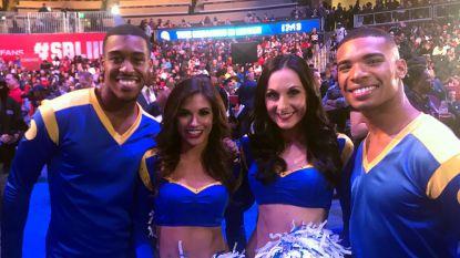 Primeur: voor het eerst twee mannelijke cheerleaders op de Super Bowl