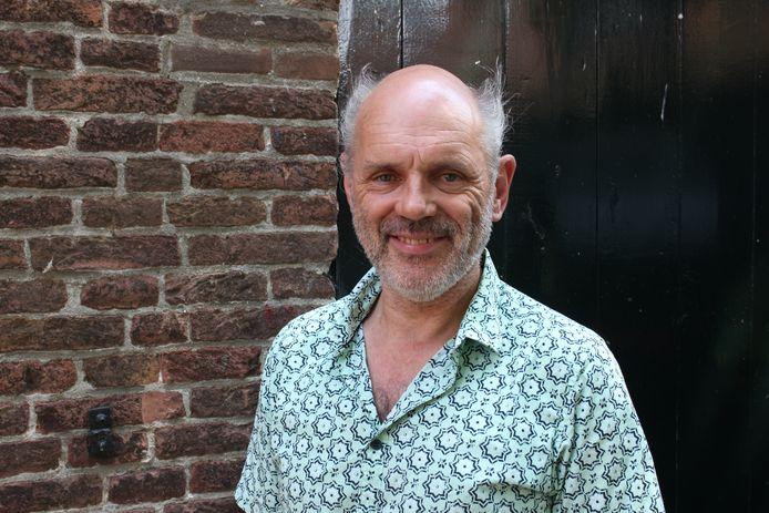 Luk Sponselee is de projectleider van Popmonument in Bergen op Zoom