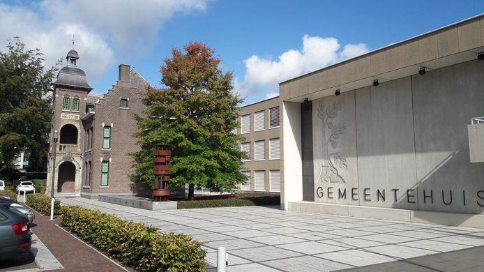 Het gemeentehuis in Bergeijk.
