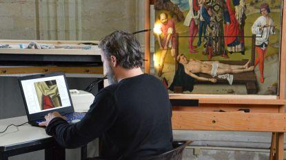 Restauratie Vlaams topstuk van Dieric Bouts: live te bekijken in Leuvense Sint-Pieterskerk