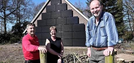 Verticale zonnepanelen als alternatief in Eibergen