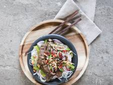 Wat Eten We Vandaag: Thaise rundvleessalade met mihoen