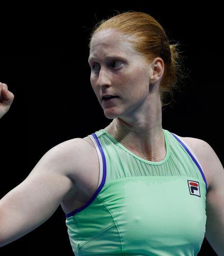 """Van Uytvanck retrouve le circuit WTA: """"Mes objectifs? Surtout ne pas être contaminée"""""""