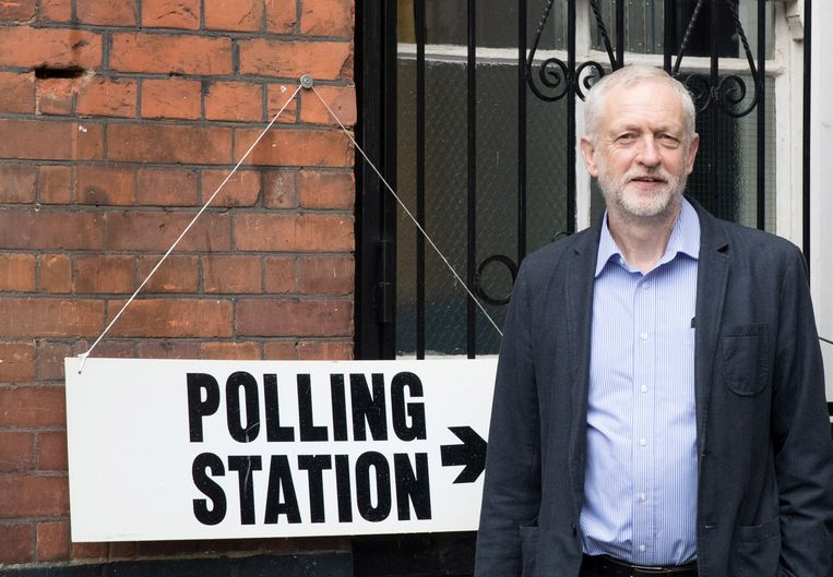 Jeremy Corbyn Beeld getty