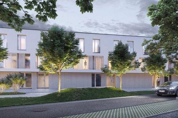 The Forest biedt ook woningen met tuin aan op de Van Volxemlaan.