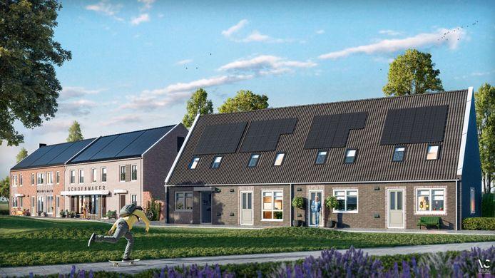 In nieuwbouwwijk De Dijkjes in Elburg worden 29 huurwoningen versneld gebouwd. Daardoor wordt in juni begonnen met de bouw van in totaal 51 huurhuizen.