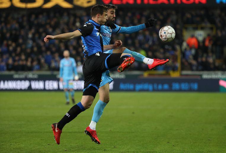 Metej Mitrovic, hier tegen Charleroi.