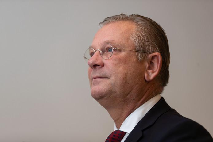 Burgemeester Pieter van Maaren van Urk.