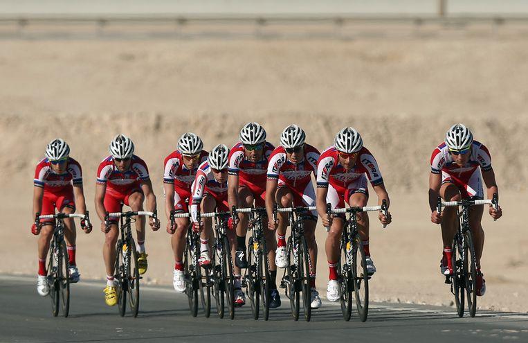 De renners van Katoesja. Beeld getty
