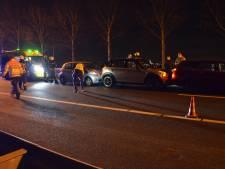Kilometerslange file op A20 na ongeval bij Gouda, vertraging neemt inmiddels af