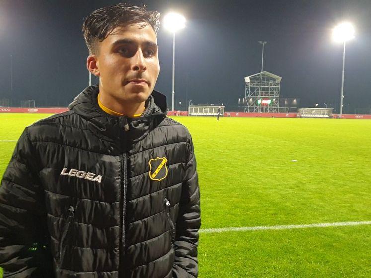 NAC-middenvelder Azzagari: 'Ik blijf geduldig'