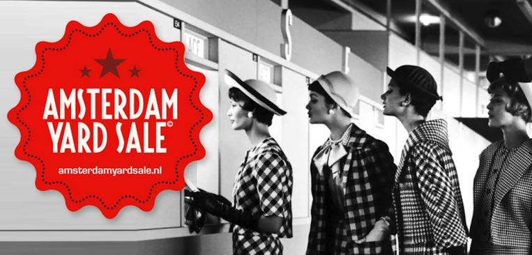 Facebookgroep Amsterdam Yard Sale telt bijna 30.000 leden. Beeld de blinde ontwerper