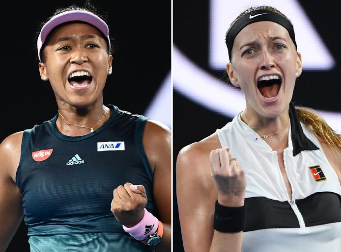 Heet de nieuwe nummer één bij de vrouwen straks Naomi Osaka of Petra Kvitova?