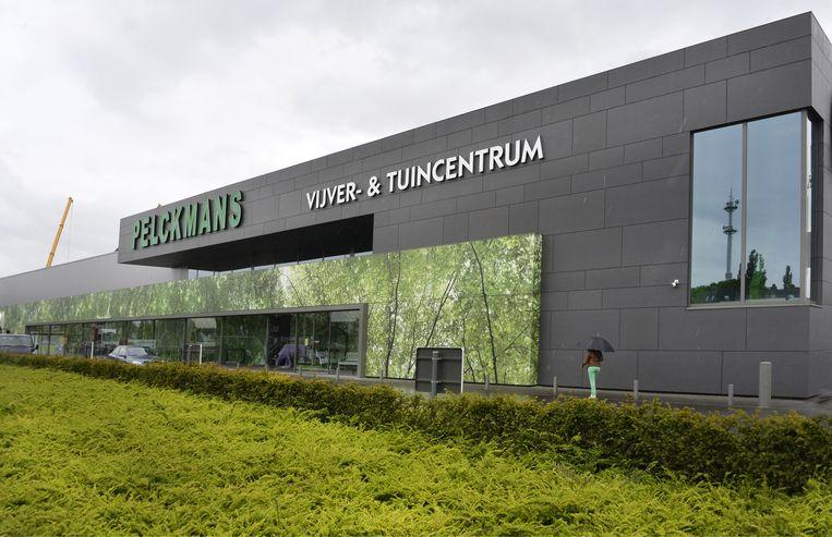 De huidige vestiging van tuincentrum Pelckmans in Turnhout.