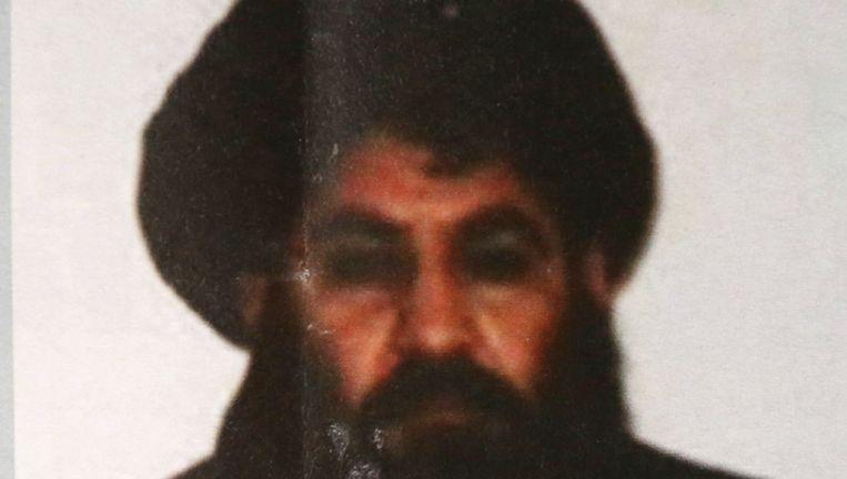 De gedode leider Mansour in 2015. Beeld ap
