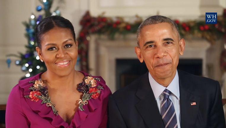 Michelle en Barack Obama Beeld White House.gov
