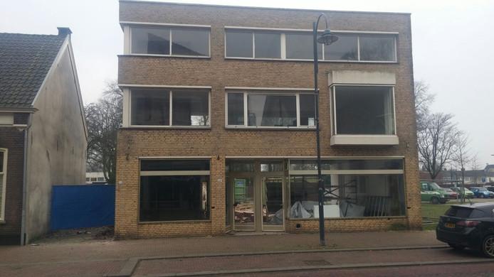 Het pand aan de Hoogstraat 20-20a in Veghel.