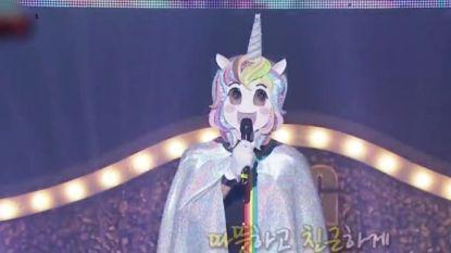 Herken jij hem? Wereldbekende acteur doet als zingende eenhoorn mee in Koreaanse show