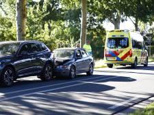 Ongeval op Flevoweg bij Elburg: auto botst op voorganger