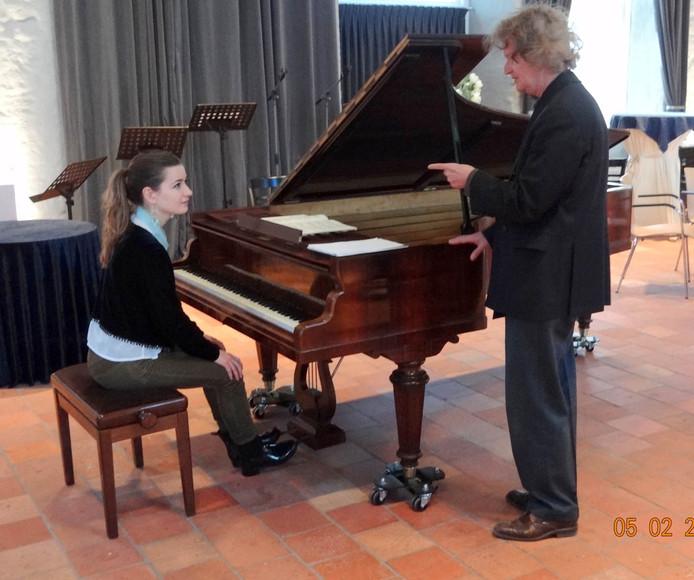 Maria vander Merwe met Martyn van den Hoek