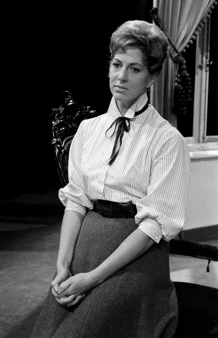 Ellen Vogel in 1968. Beeld ANP