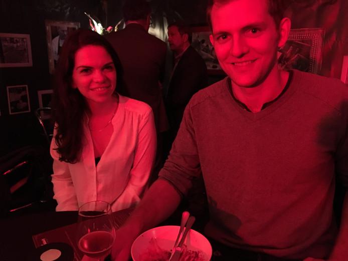Niels Nielsen en Amy Reynolds.