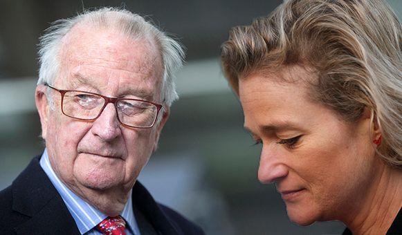 Koning Albert II wil geen DNA afstaan in de zaak rond zijn vermeende dochter Delphine Boël. Haar advocaten eisen nu een dwangsom.