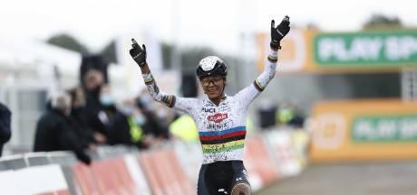 Wereldkampioene Alvarado soleert naar zege in Superprestige Gieten