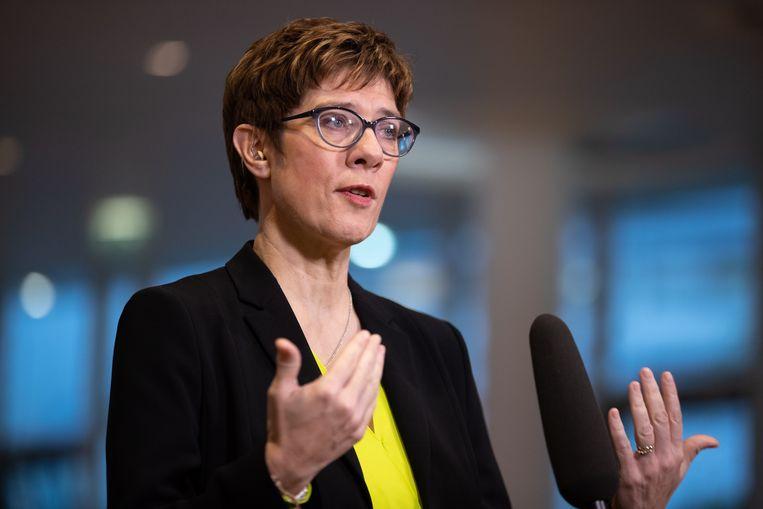 Annegret Kramp-Karrenbauer.