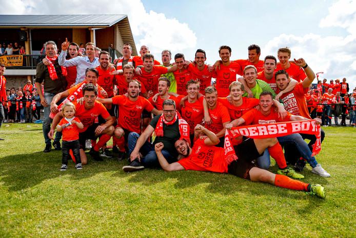 Moerse Boys mag zich voor het eerst in de clubgeschiedenis hoofdklasser noemen.