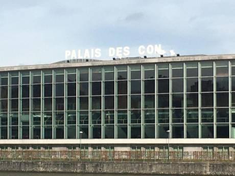 """Dennis souffle sur Liège et crée le """"Palais des con"""""""