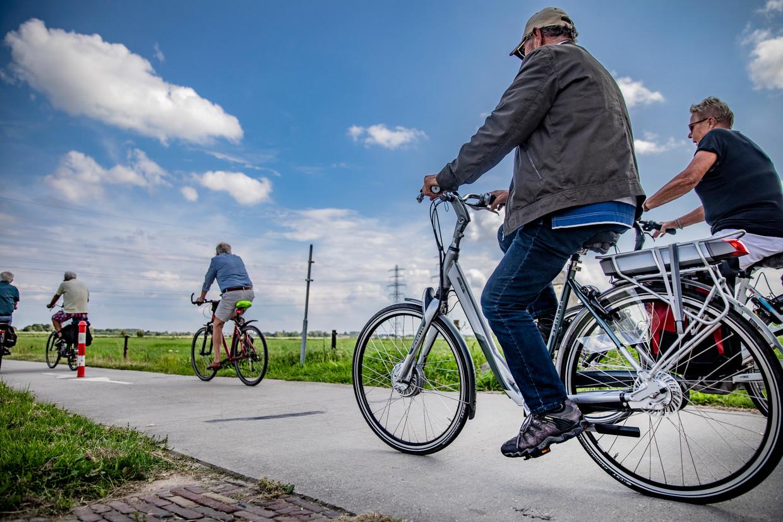 Er zijn nu zo'n 2,6 miljoen elektrische fietsen in Nederland
