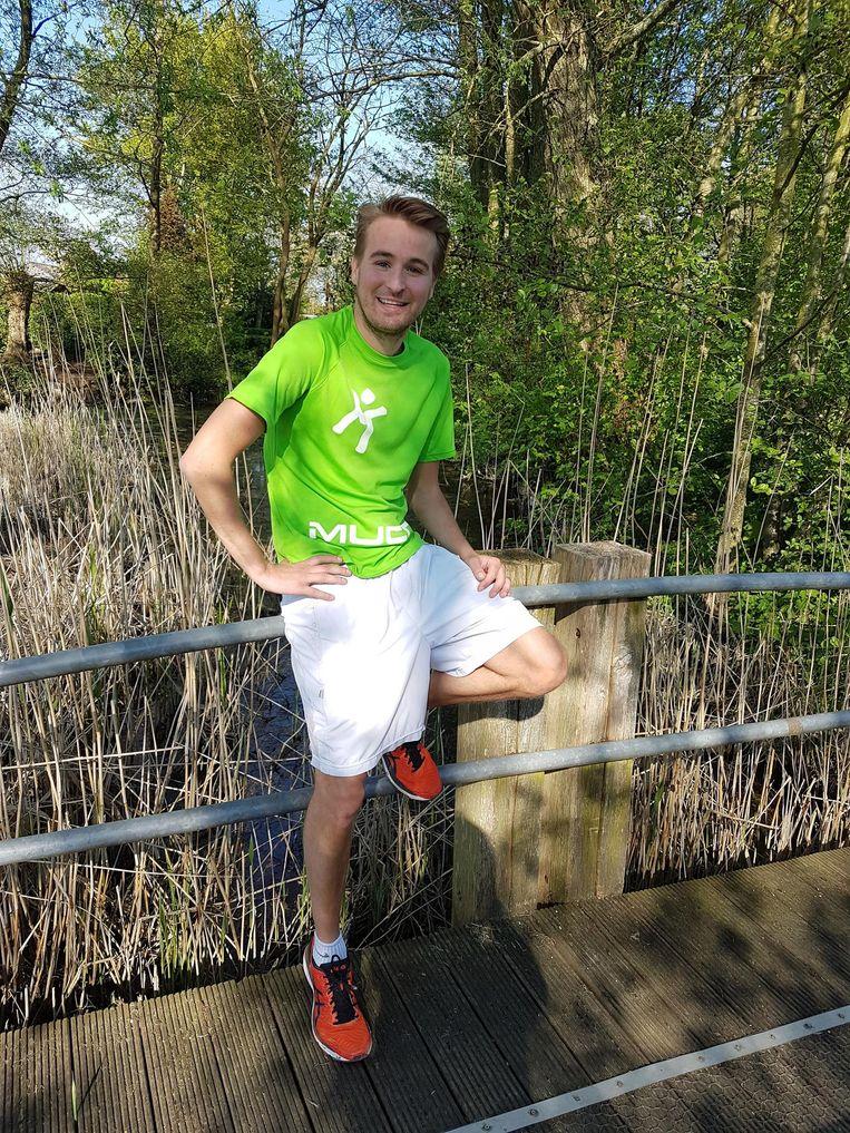 Sammy loopt als mucopatiënt de 20 kilometer van Brussel.