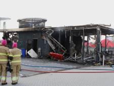 Febo in Den Bosch is volledig uitgebrand, mogelijk opzet