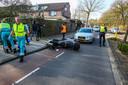 Motorrijder gewond in Helmond