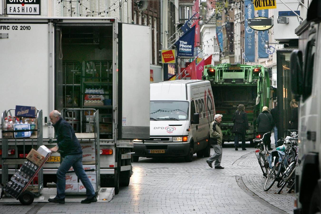 Stadsdistributie zou een van de vraagstukken kunnen zijn waar het nieuwe Logistics Community Brabant zich over gaat buigen.