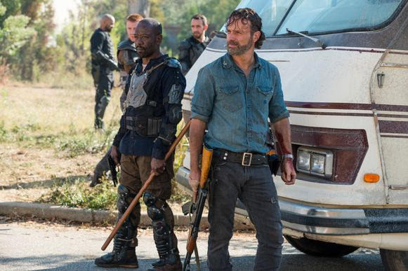 Andrew Lincoln als Rick Grimes in 'The Walking Dead'.