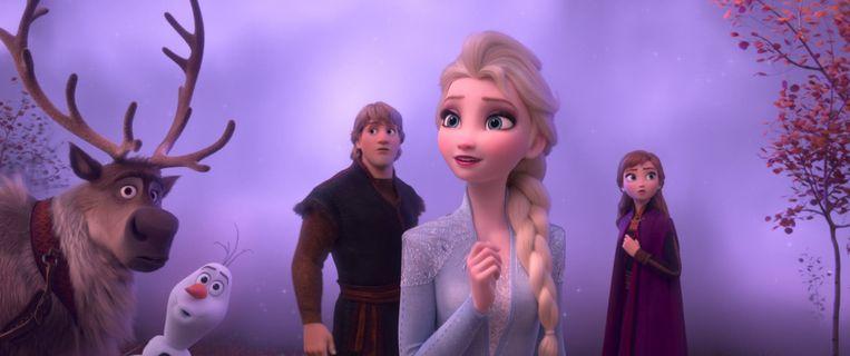 Een beeld uit 'Frozen 2'