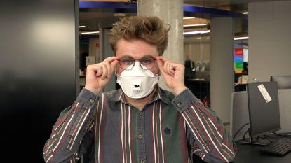Bril én mondmasker: zo vermijd je aangedampte brilglazen