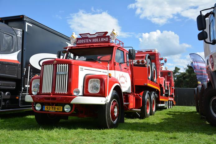 Foto ter illustratie van een andere truckshow.