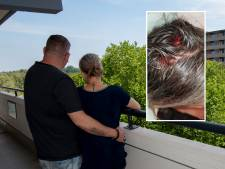 Na aanslag met bloempot vluchten Martijn en Miranda uit flat