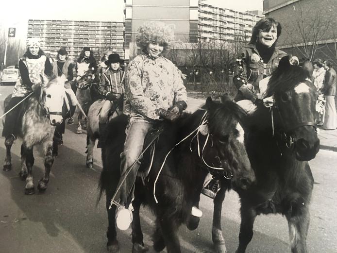 Ook voor de kinderen was het carnaval in 1978 een groot feest.