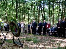 Herdenking bij fusilladeplaats Gorp en Roovert in besloten kring