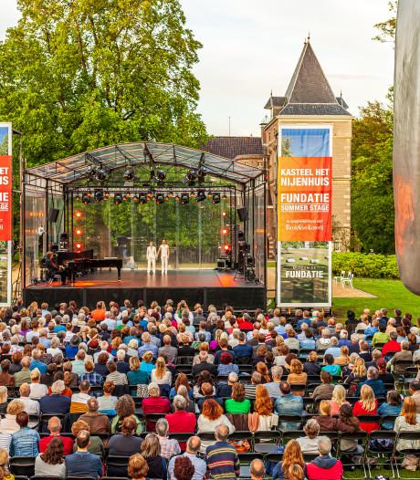 Volle bak bij Fundatie Summerstage op Nijenhuis in Heino