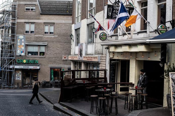 Café de Fiets in de Grotestraat.